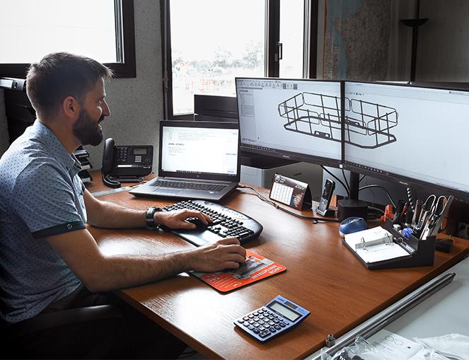 Industrie Tube Service dispose d'un bureau d'étude pour la conception de vos projets